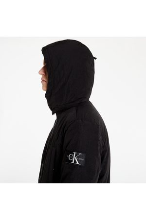 Calvin Klein Sherpa Lined Long Parka Ck