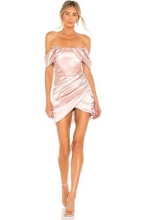 superdown Aurora Corset Mini Dress in - . Size L (also in M, S, XL, XS, XXS).
