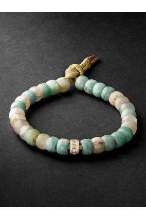 CAROLINA BUCCI Forte Beads Pink Gold Multi-Stone Bracelet
