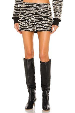 Retrofete Senhora Saias - Tina Skirt in - Black. Size L (also in XS, S, M).