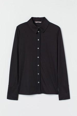 H&M Senhora Formal - Camisa em jersey