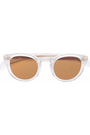 Eyewear by David Beckham Round-frame tinted lens sunglasses