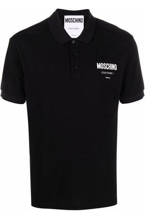 Moschino Homem Formal - Logo-print polo shirt