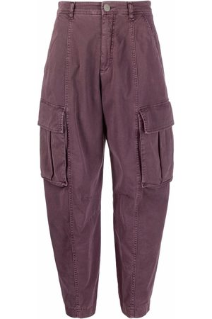 Pinko Flap-pocket cropped trousers