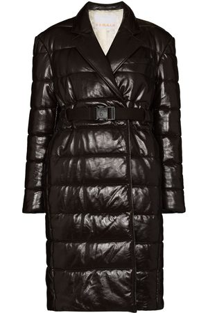 REMAIN Gia leather puffer coat