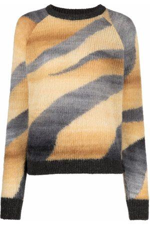 Pinko Zebra-print knit jumper