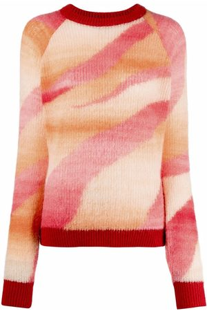 Pinko Striped knitted jumper