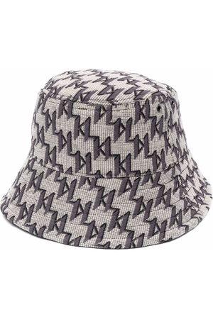 Karl Lagerfeld K/Monogram reversible bucket hat