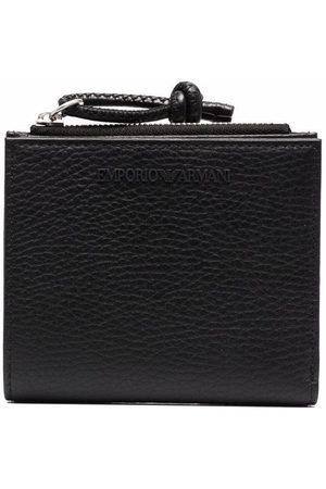 Emporio Armani Homem Bolsas & Carteiras - Pebbled-effect leather wallet