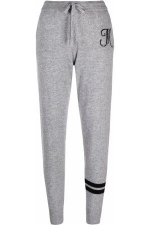 Dee Ocleppo Senhora Calças - York flannel cashmere track trousers