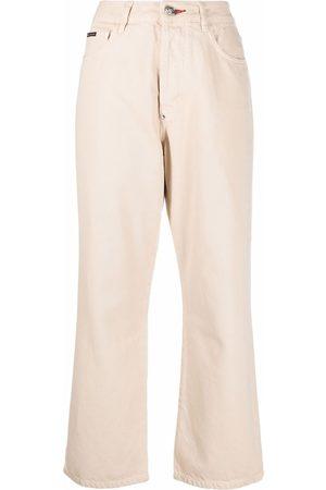 Philipp Plein Iconic Plein loose-cut trousers