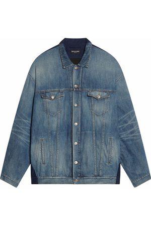 Balenciaga Senhora Casacos - Patchwork denim jacket
