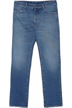 Palm Angels Bandana patch straight-leg jeans