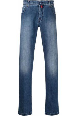Kiton Low-rise slim-fit jeans