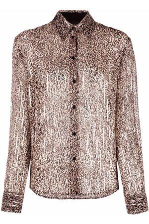 Pinko Leopard-print shirt