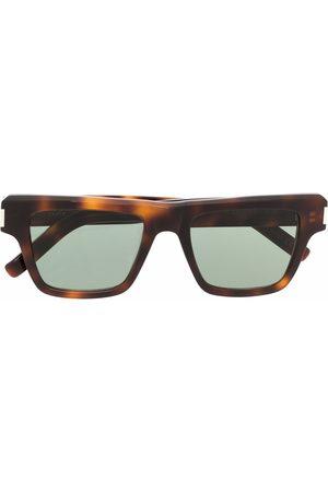 Saint Laurent Eyewear Angular square-frame sunglasses