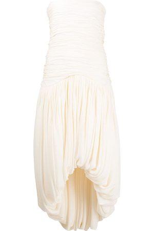 KHAITE Senhora Vestidos de Festa - Shivani strapless dress