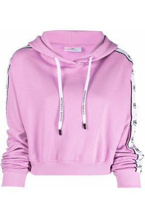 Chiara Ferragni Side logo-print hoodie