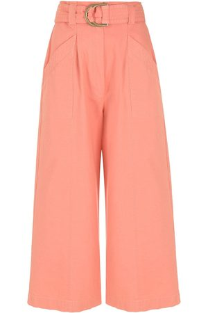 Nk Gal cropped wide-leg trousers