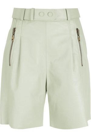 Nk Penny leather shorts