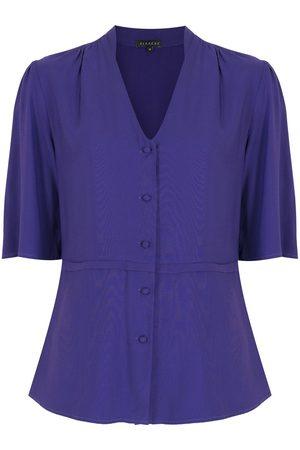 Alcaçuz Sienna buttoned blouse
