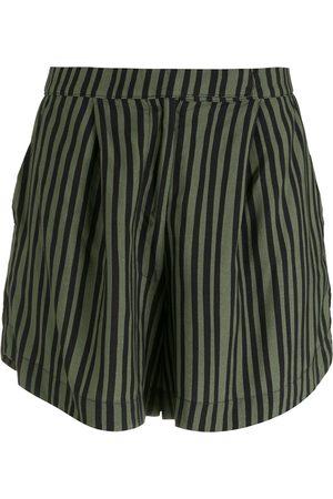 Osklen Pinstripe loose shorts
