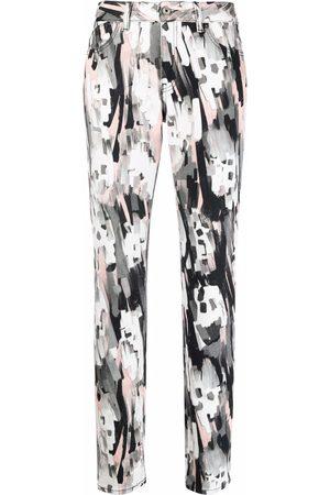 Just Cavalli Senhora Skinny - Abstract-print skinny jeans