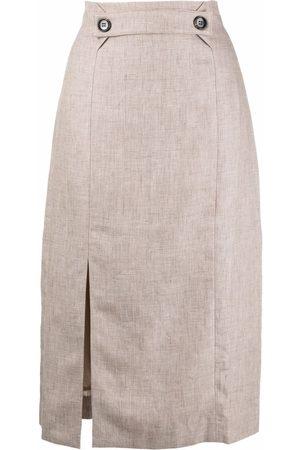 12 STOREEZ Senhora Saias-lápis - Side slit pencil skirt
