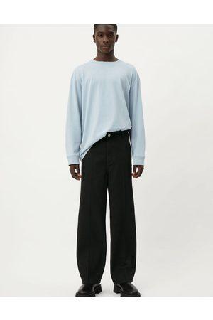 Weekday Ross wide trousers in black