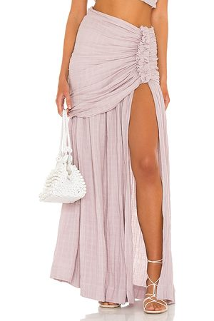 Just BEE Queen Blanca Skirt in - Mauve. Size L (also in XS, S, M).