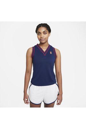 Nike Camisola de ténis sem mangas Court Dri-FIT Slam para mulher