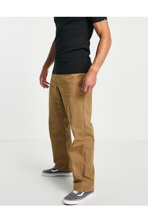 Vans Homem Calças Chino - Authentic loose fit chino trousers in brown