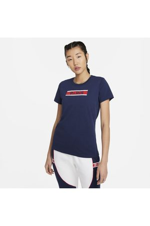 Nike Senhora T-shirts & Manga Curta - T-shirt Paris Saint-Germain para mulher