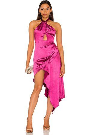 ELLIATT X REVOLVE Caroline Dress in - Fuchsia. Size L (also in M, S, XS).