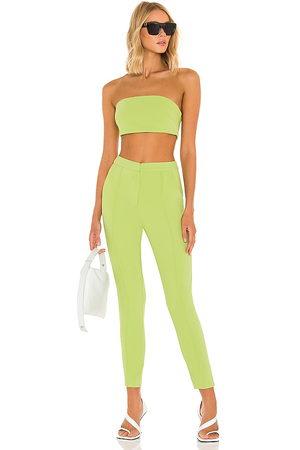 superdown Senhora Caicais - Remy Bandeau Pant Set in - Green. Size L (also in M, S, XL, XS, XXS).