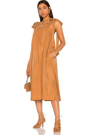 Sancia The Bambi Dress in - Rust. Size L (also in M, S, XS).