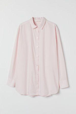 H&M Camisa em algodão