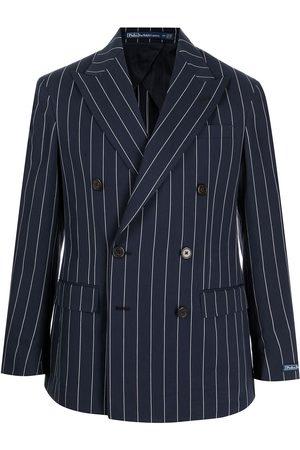 Polo Ralph Lauren Homem Blazers - Pinstriped double-breasted blazer