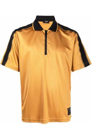 Fendi Homem Manga curta - FF-motif short-sleeve polo shirt