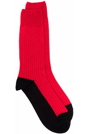 YOHJI YAMAMOTO Homem Meias - Calf-length socks