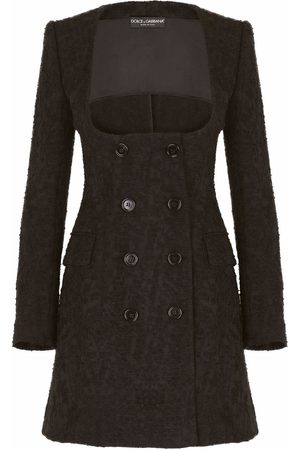 Dolce & Gabbana Brocade double-breasted coat