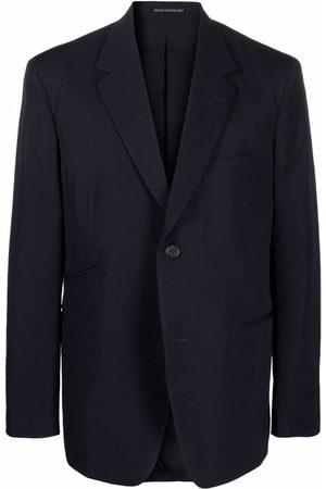 YOHJI YAMAMOTO Homem Blazers - Boxy-cut blazer