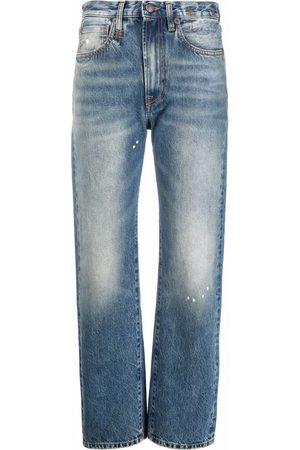 R13 Courtney slim cropped jeans