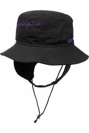 YOHJI YAMAMOTO Homem Chapéus - Logo-embroidered sun hat
