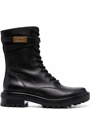 Tory Burch Lace-up combat boots
