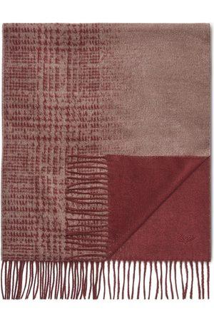 Ermenegildo Zegna Homem Cachecóis & Echarpes - Patterned-knit silk scarf