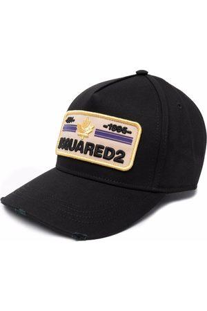 Dsquared2 Homem Chapéus - Logo-embroidered baseball cap