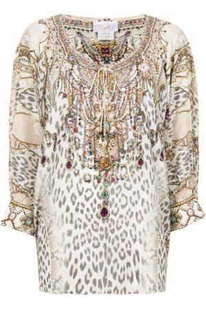 Camilla Long-sleeve blouse