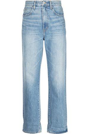 SLVRLAKE Senhora Retos - Dakota high-rise straight-leg jeans
