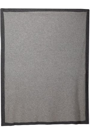Siola Two-tone cashmere blanket